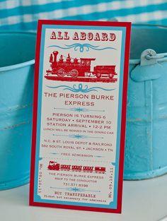 VINTAGE TRAIN Birthday Party Printables By ShopAndersRuff On Etsy Thomas The Train Trains