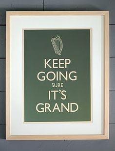 an irish spin...