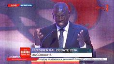 Uganda presidential debate 2016