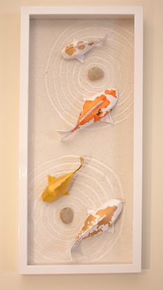 Bastelideen Origami Koi Fish (Design by Sipho Mabona) Origami Bastelideen design Fish Koi Mabona origami koi Sipho Diy Origami Box, Origami Wall Art, Origami Paper Art, Origami Bookmark, Origami Tutorial, Paper Crafting, Dollar Origami, Origami Instructions, Origami Koi Fish