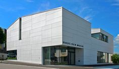 Sports center in Austria. Pointner Pointer arch. EQUITONE facade materials. www.equitone.com