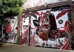 Sheryo and the Yok street art NYC Curious Characters on NYC Streets, Part III: R. Robot, Jeromy Velasco, Malarky and Goldpeg, Harlenquinade,...