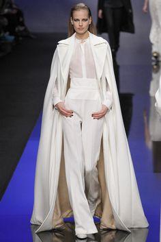 Elie Saab Otoño Invierno 2013/2014 - Pasarela. Total look White ! <3