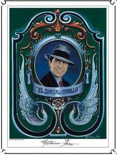 """""""El zorzal criollo"""" por Martiniano Arce."""