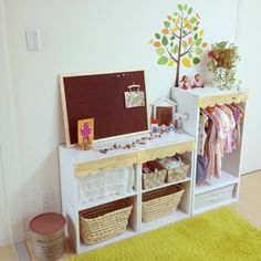 Essential s and self care space ? Toddler Room Organization, Home Organization, Kid Spaces, Handmade Baby, Kids And Parenting, Baby Room, Playroom, Kids Room, Shelves