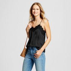 81468dea4dc Women s Lace Trim Cami - Who What Wear™   Target