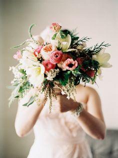 Organic Feminine Bridal Shoot - Anna Peters Photography