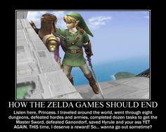 Motivation - How Should The Zelda Game End by Songue.deviantart.com on @deviantART