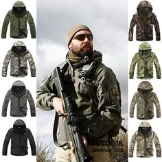 Shark Skin Soft Shell V4.0 Outdoor Military Tactical Jacket Waterproof – Back Country World