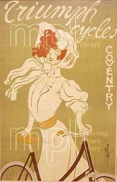 Edwardian advertisement - shapes and limited color