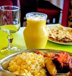 Lassi à la mangue au restaurant indien Namasty India à Le Havre