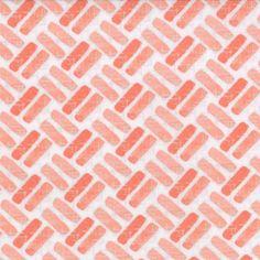 Modern Roses - Gate in Ginger (7187 14) // Juberry Fabrics