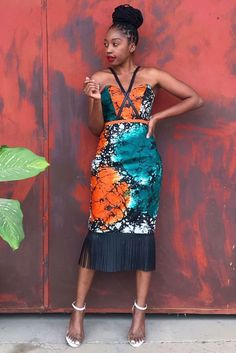 African Inspired Fashion, Latest African Fashion Dresses, African Print Fashion, Fashion Prints, African Attire, African Wear, African Dress, African Women, Cute Dresses