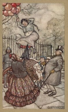 Peter Pan in Kensington Gardens - Arthur Rackham