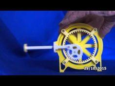 Rotary piston drive 329 Take 3 - YouTube