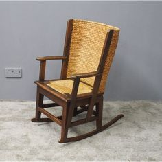 Neat Orkney Rocking Chair - Antiques Atlas Get Directions, Rocking Chair, Rattan, Chairs, Cabin, The Originals, Antiques, Furniture, Home Decor