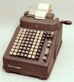 Before the calculator we had adding machines