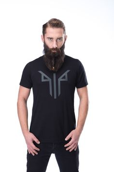 ONLY THE BRAVE GOD TYR, DEARED TO GO NEAR ENOUGH TO FEED HIM.  • Tri-blend construction (50% polyester/25% combed ring-spun cotton/25% rayon)  • 40 singles thread weight • Comfortable and durable • Contemporary fit • Lightweight Old Norse, Spun Cotton, Brave, Two By Two, Polo Ralph Lauren, Construction, God, Contemporary, Ring