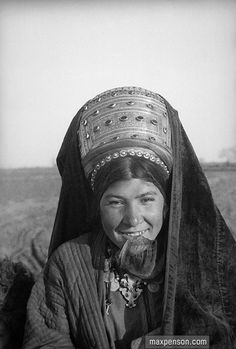 A Turkmen Woman by Max Penson