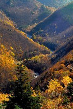 Cabot Trail MacKenzie River Valley, Canada