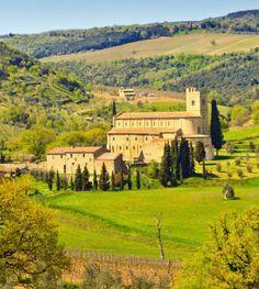Breathtaking Montalcino, Siena province, Tuscany region Italy