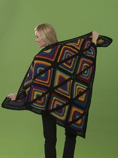Ravelry: Stained Glass Wrap pattern by Margret Willson