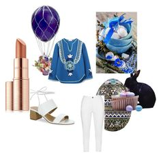 """""""Easter morning"""" by envogueover40 on Polyvore featuring Mode, Tory Burch, Zhenzi, Tahari und Estée Lauder"""