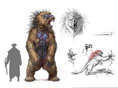 ArtStation - The beast , Timur Mutsaev
