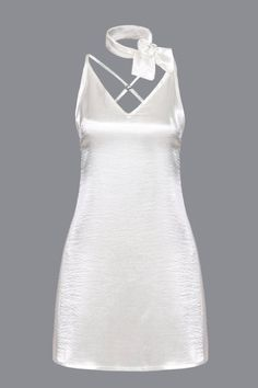Sexy Sleeveless V-neck Adjustable Straps Mini Dress from mobile - US$13.95 -YOINS