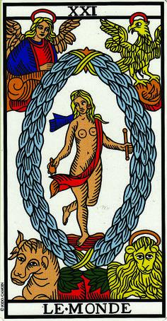 The World - Camoin - Jodorowsky Tarot