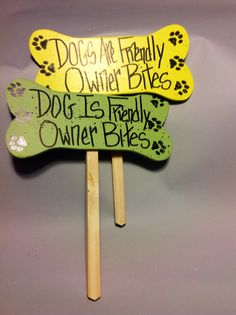 Handcrafted Garden Dog Stake by dennyscrafts on Etsy