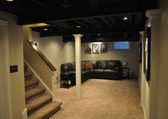 low cost basement finishing - Google Search