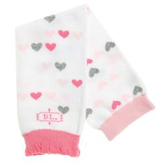 Pink Lightweight Mesh BabyLegs Lovely Lady Leg Warmers One Size