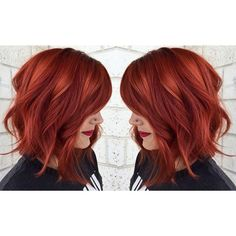 Hot copper red hair achieved from Aveda Color. Photo credit: https://www.instagram.com/emirymakesmepretty/: