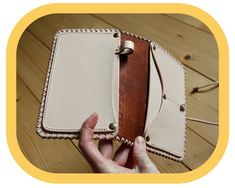 Travel Organizer Wallet - Brown Leather – Passport Cover – Travel Documents and Notebook Holder - Handcrafted – Hand tooled – Boho Leather Tooling, Leather Bags, Leather And Lace, Leather Craft, Tan Leather, Leather Wallet, Festival Accessories, Travel Organization, Passport Cover