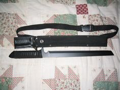 "MAXAM 18"" Machete with Nylon/Leather Sheath #Maxam"