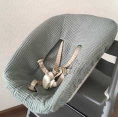 Hoes Stokke Newbornset- sapphire groen wafelstof