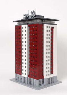 Architecture Minecraft, Minecraft City Buildings, Minecraft Blueprints, Minecraft Designs, Minecraft Ideas, Lego Skyscraper, Construction Lego, Micro Lego, Lego Army