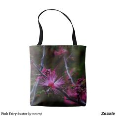 Pink Fairy duster Tote Bag