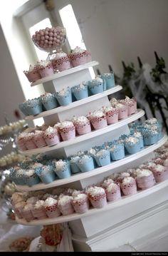 Dalgarn Remnant Fellowship Wedding Cupcakes