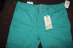 Rue21 teal skinny jeans #Swapdom