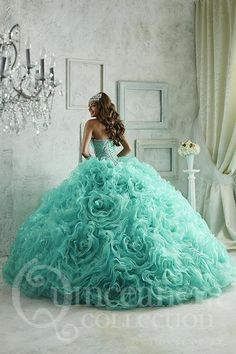 The Quinceanera Collection offers elegant quinceanera dresses, 15 dresses, and vestidos de quinceanera! These pretty quince dresses are perfect for your party! Quince Dresses, 15 Dresses, Pretty Dresses, Fashion Dresses, Quinceanera Dresses, Quinceanera Decorations, Xv Dress, Beautiful Gowns, Beautiful Outfits