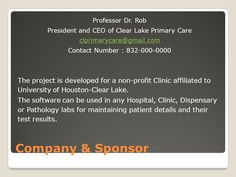 """Clear Lake Primary Care Patient Information Management System – ppt download #patient #information #management, #clear #lake #primary #care #patient #information #management #system http://long-beach.remmont.com/clear-lake-primary-care-patient-information-management-system-ppt-download-patient-information-management-clear-lake-primary-care-patient-information-management-system/  # Clear Lake Primary Care Patient Information Management System Presentation on theme: """"Clear Lake Primary Care…"""