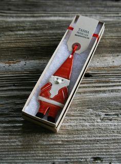 Santa Ornament- Tasha McKelvey