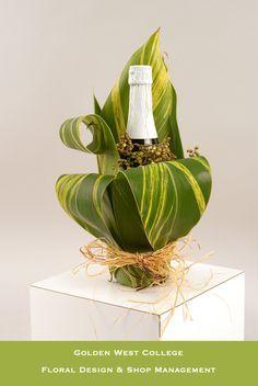 Bottle wrap | by GWC Floral Design