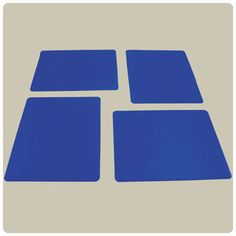 Nonslip surface assists in stabilizing plates and bowls, keeping items in place. Aids in self feeding and dining.