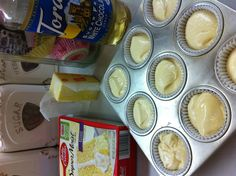How to make a store bought cake mix better! I used melted butter in place of the oil and white chocolate syrup (used for coffees) in place of the water. The cupcakes were so good!