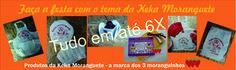 Monte sua festa com o tema da Keka Moranguete.