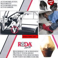 The Roda ShoeClips protect shoes/heels while driving !!   www.roda.com