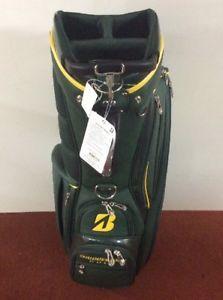 d6b25d2312 New Bridgestone Golf 2017 Limited Edition Master s Green Stand Bag